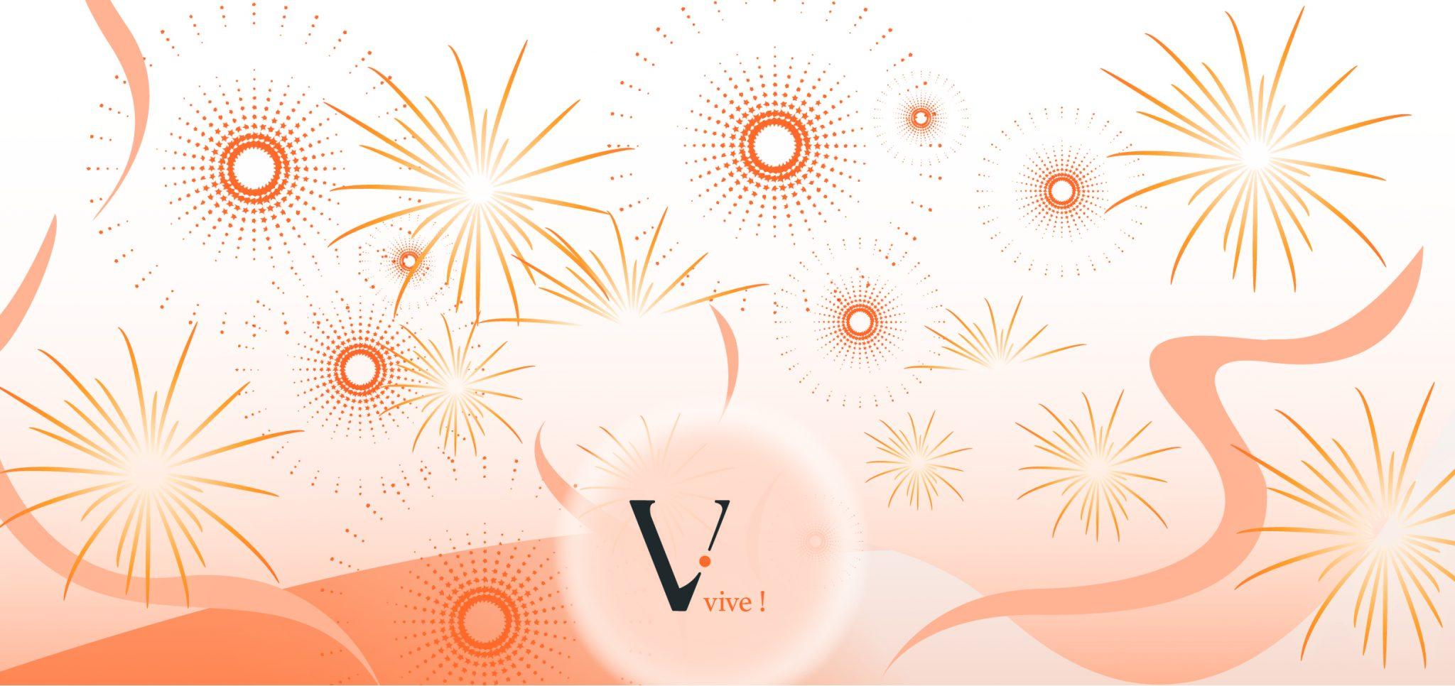 CLIENT: AGENCE VIVE / WE ARE TAKA Création d'une carte de voeux.