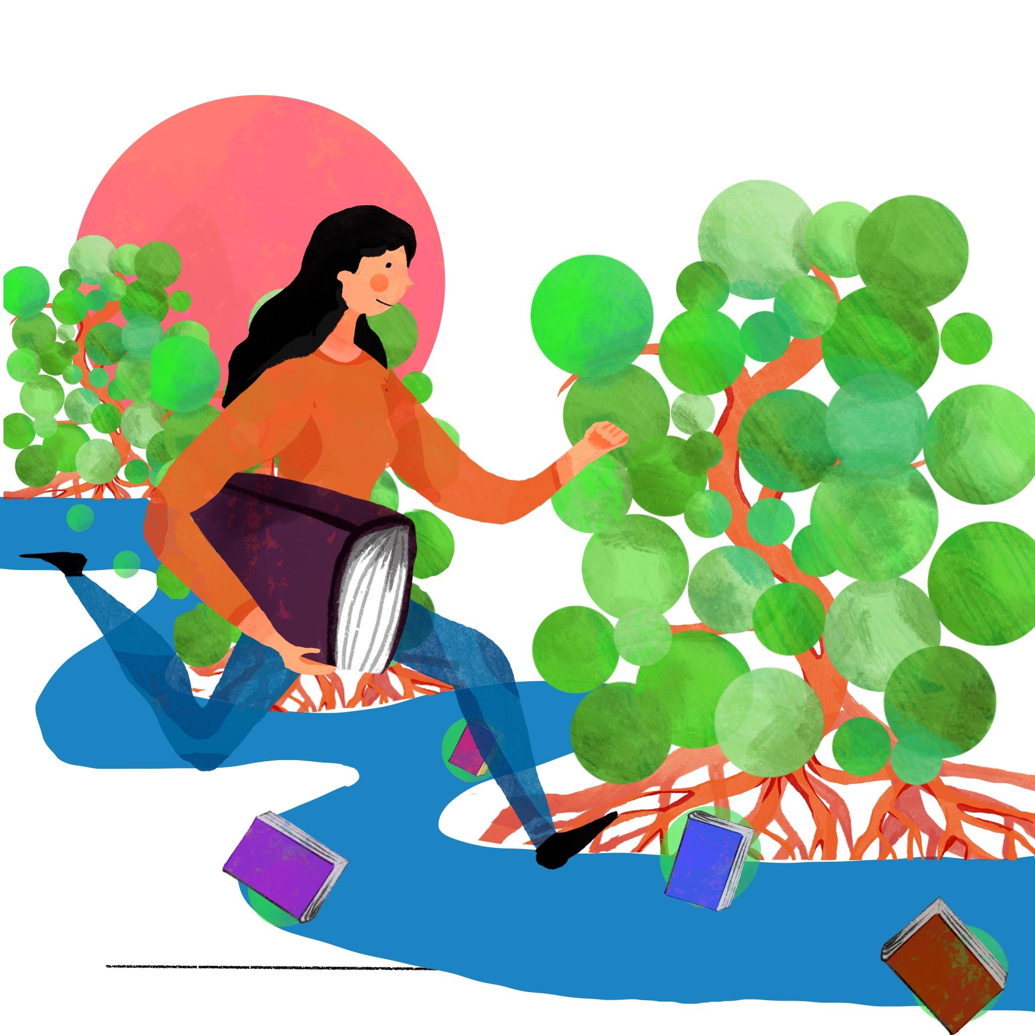 CLIENT: EFFICIENCE-CONSULTING Création d'illustrations pour brochure.