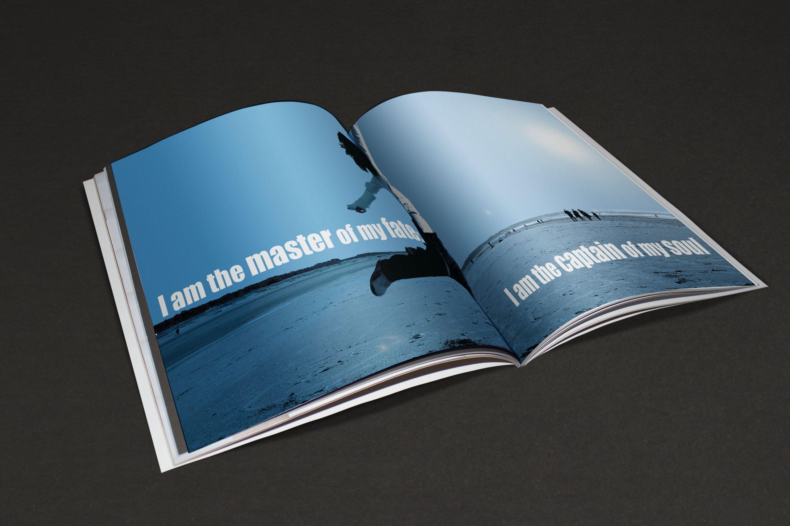 PROJET ESAT/ LEVIS FREEDOM Extrait du projet Levi's: «Levi's réinvente le bleu» Soirée événementielle au Palais de Tokyo : Levi's s'approprie le bleu contemporain. Réalisation d'un livre de design sur le bleu.