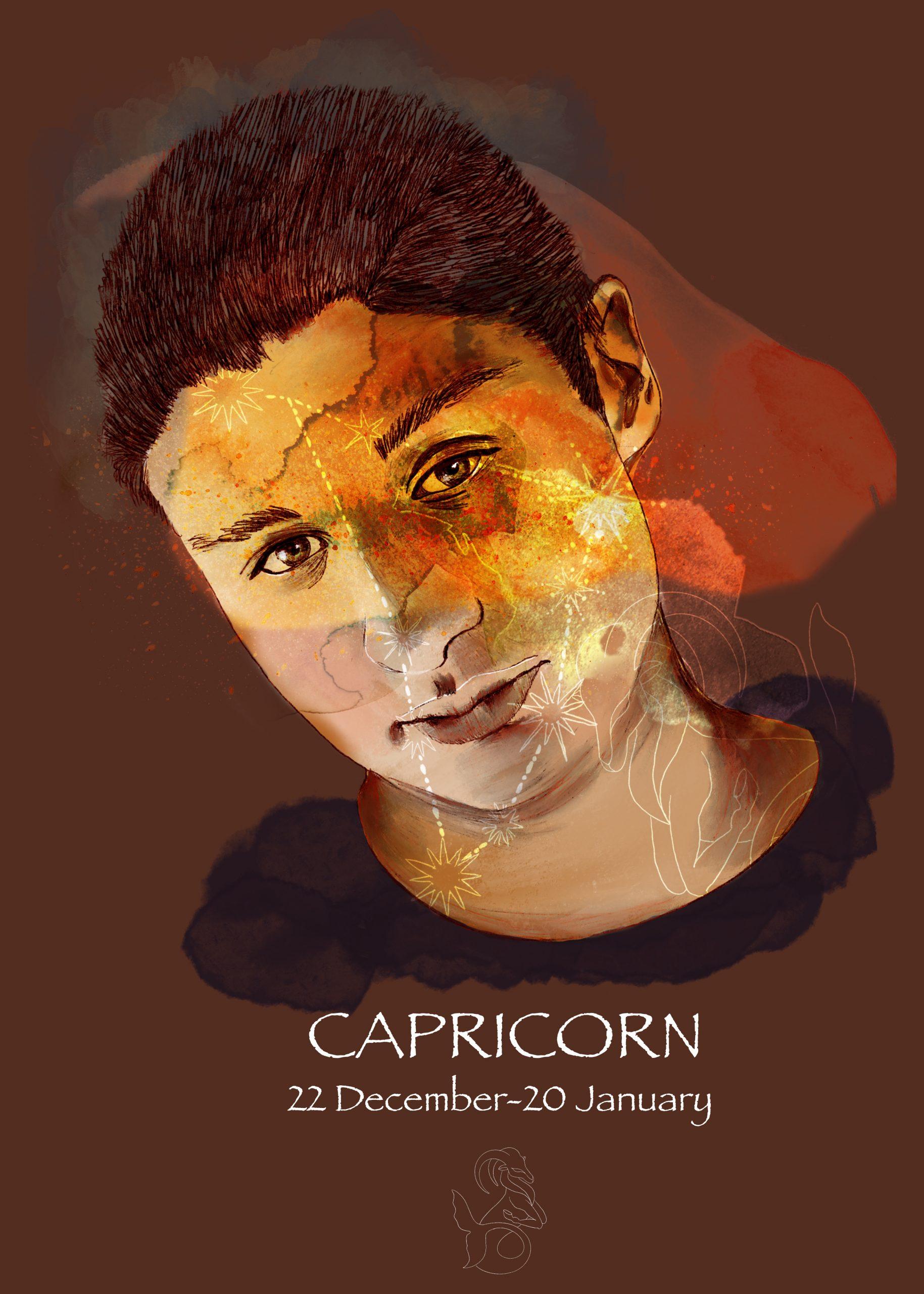 PORTRAIT / CAPRICORN A collection de portraits sur le thème de l'astrologie.
