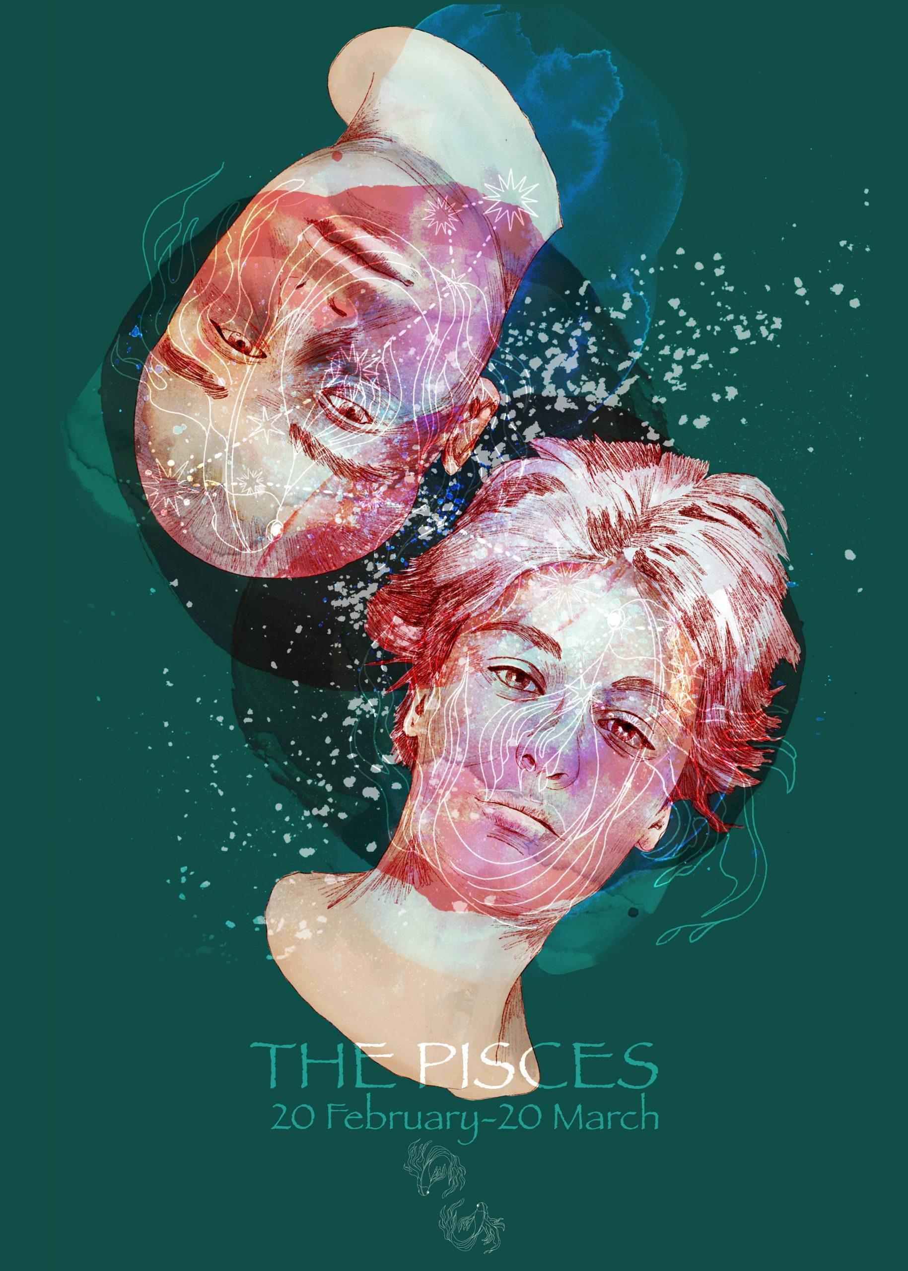 PORTRAIT / THE PISCES A collection de portraits sur le thème de l'astrologie.