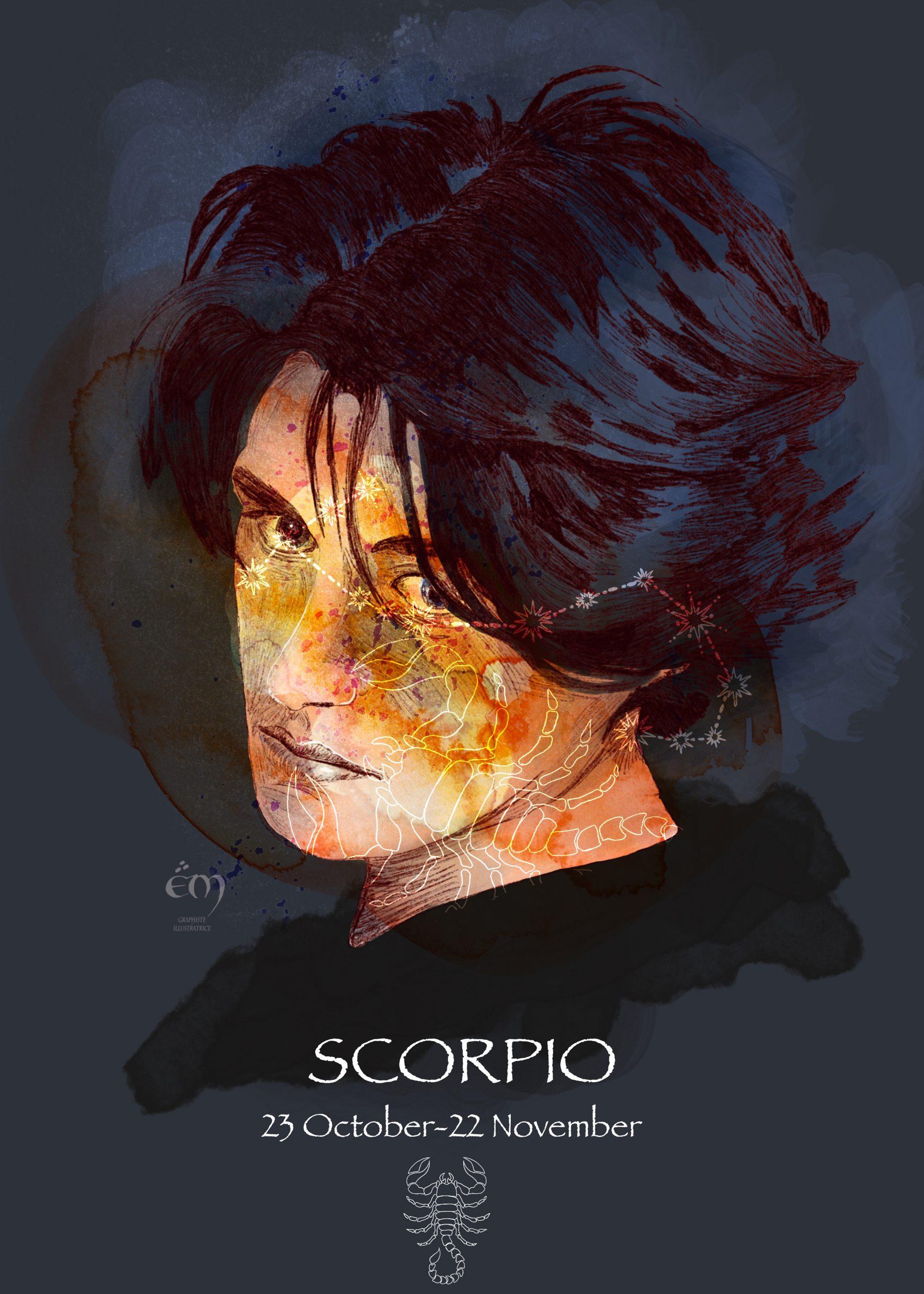 PORTRAIT / SCORPION A collection de portraits sur le thème de l'astrologie.