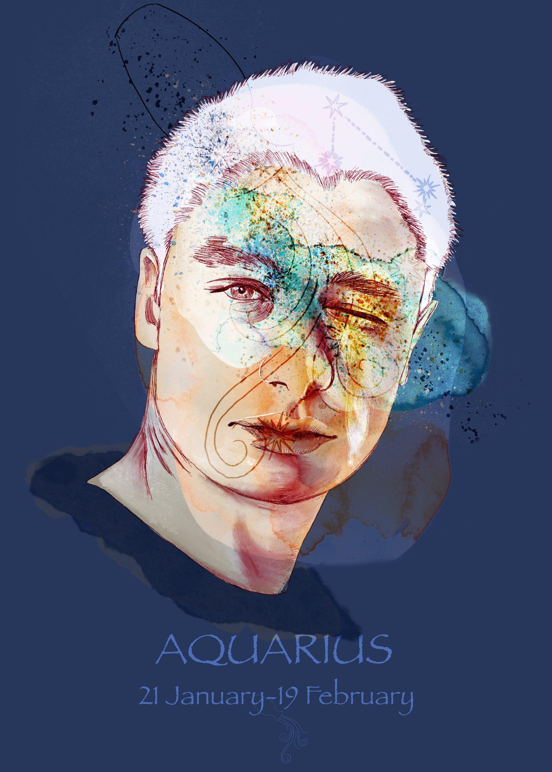 PORTRAIT / AQUARIUS A collection de portraits sur le thème de l'astrologie.