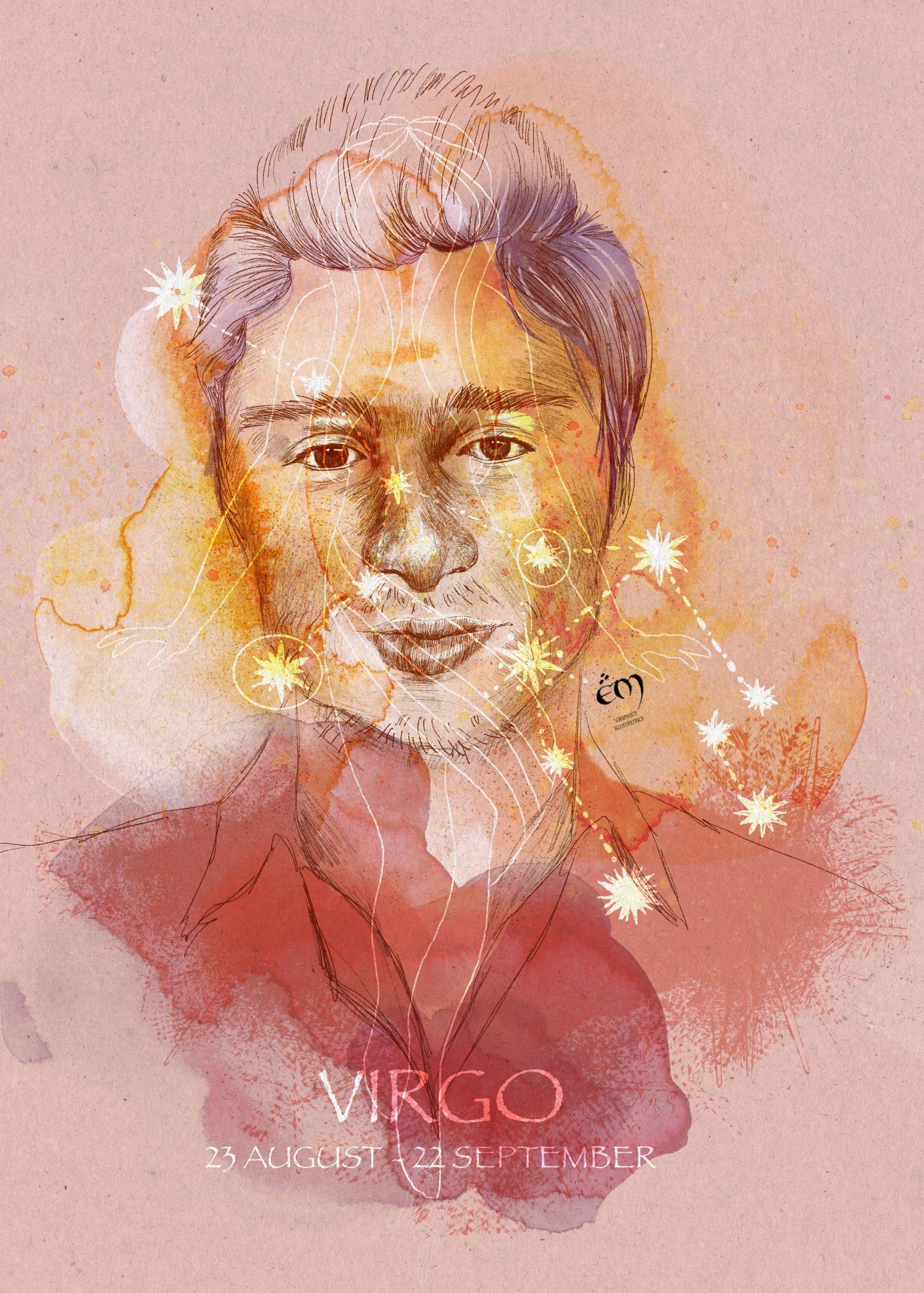 PORTRAIT / VIRGO A collection de portraits sur le thème de l'astrologie.